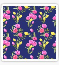 Beautiful floral pattern for girls and women Sticker