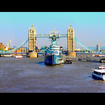 TOWER BRIDGE - LONDON by Angie82