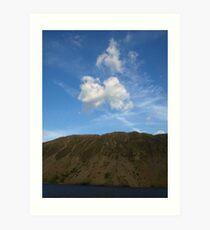 Sky, Slope, Water Art Print