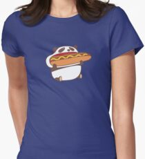 Hungry kawaii panda. T-Shirt