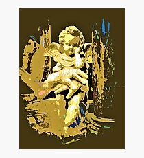 Cupid guard the King's armour glove Photographic Print