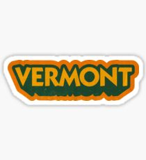 Vermont State Sticker | Retro Pop Sticker