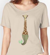 Mer Giraffe Women's Relaxed Fit T-Shirt