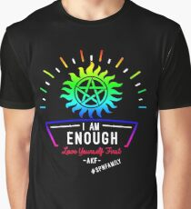 Always Keep Fighting - I Am Enough Graphic T-Shirt