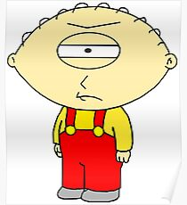 Frowning cyclops Stewie Poster