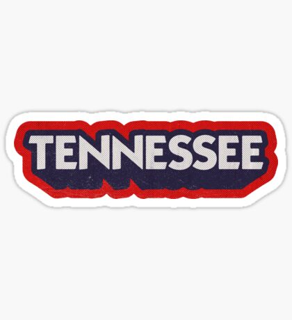 Tennessee State Sticker | Retro Pop Sticker