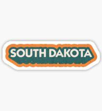 South Dakota State Sticker | Retro Pop Sticker