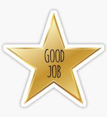 Good Job Star Sticker
