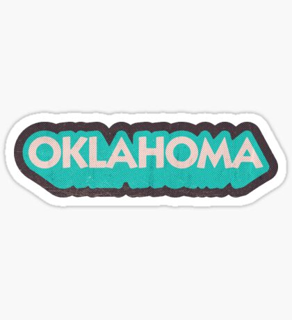Oklahoma State Sticker | Retro Pop Sticker