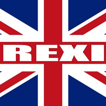 BREXIT, Union Jack, Pure & Simple, UK by TOMSREDBUBBLE