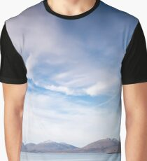 Luskentyre Skyscape #1 Graphic T-Shirt