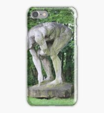 Giant Sculpture Amidst Trees iPhone Case/Skin