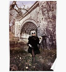2B Forest Castle Cosplay Poster