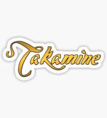 Takamine Gold Sticker