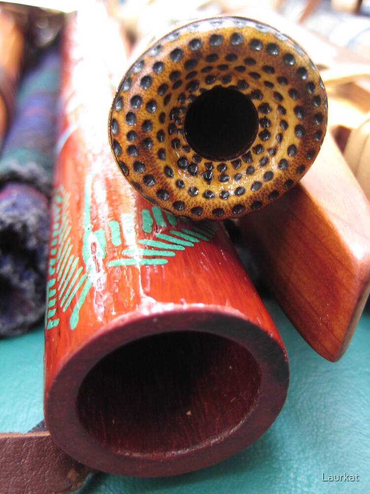 red top mountain flutes by Laurkat