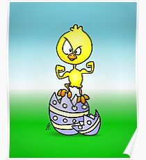 Easter Chick Poster