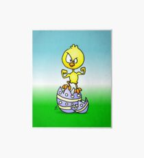 Easter Chick Art Board