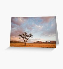 Stormclouds in the Desert Greeting Card
