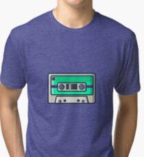 Retro - Cassette Tri-blend T-Shirt