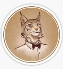Mr. Lynx Sticker
