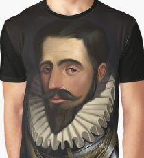 Luis Pachedo de Narváez Graphic T-Shirt