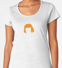 The Fifth Element - Leeloo silhouette Women's Premium T-Shirt