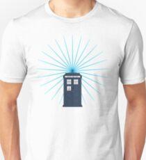 Tardis - Circular Light Effect T-Shirt