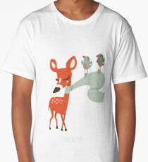 Biche des neiges T-shirt long