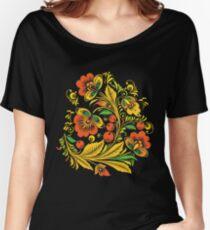 Khokhloma flower Women's Relaxed Fit T-Shirt