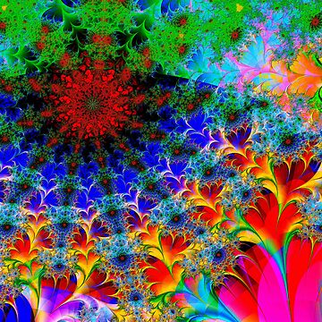 A Naive Fractal by paoloart