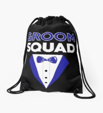 GROOM SQUAD Drawstring Bag