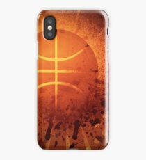 Grunge Basketball iPhone Case/Skin