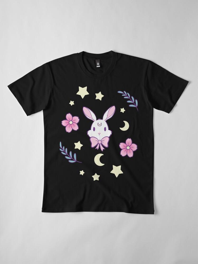 Alternative Ansicht von Sakura-Häschen Premium T-Shirt