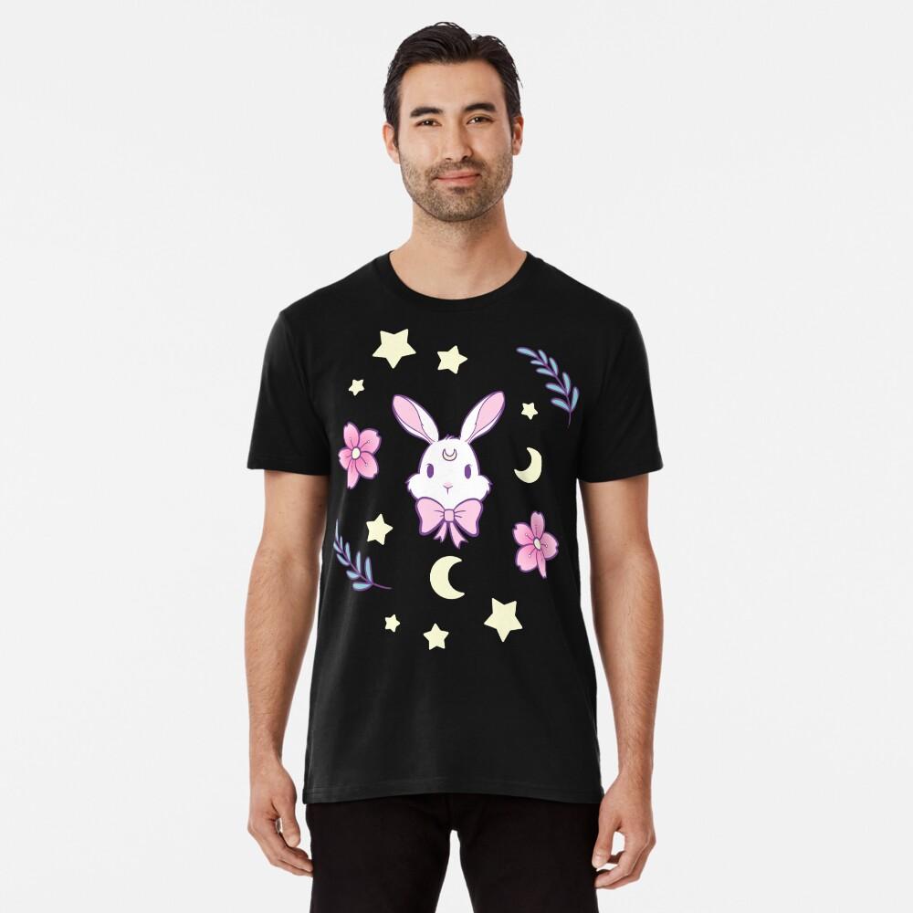 Sakura-Häschen Premium T-Shirt