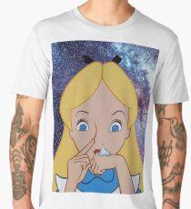 Alice au pays des merveilles fait une bosse T-shirt premium homme