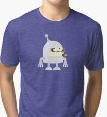 Super Vector Futurama Bender Tri-blend T-Shirt