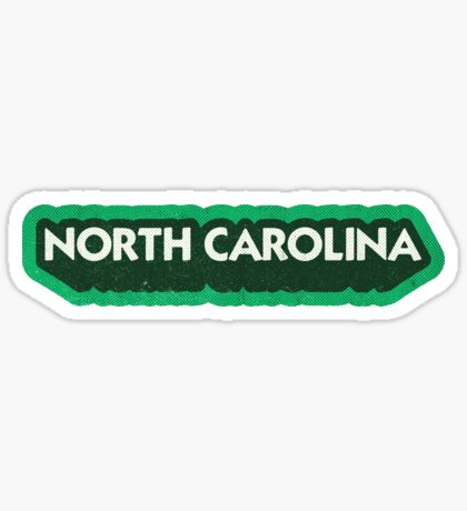 North Carolina State Sticker | Retro Pop Sticker