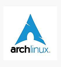 Arch Linux Merchandise Photographic Print