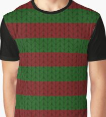 Chunky Knit Jumper Graphic T-Shirt