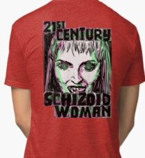 21st Century Schizoid Woman Tri-blend T-Shirt