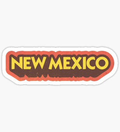 New Mexico State Sticker | Retro Pop Sticker