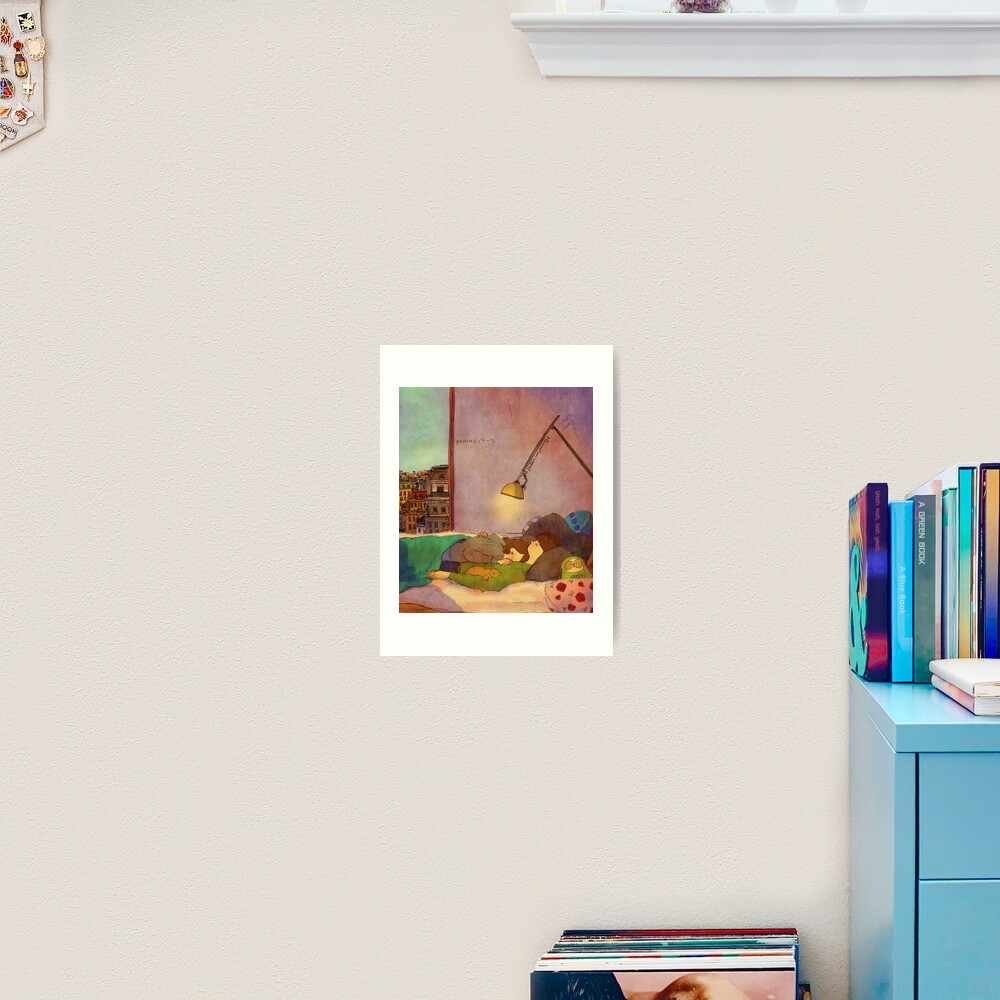 Nap together Art Print