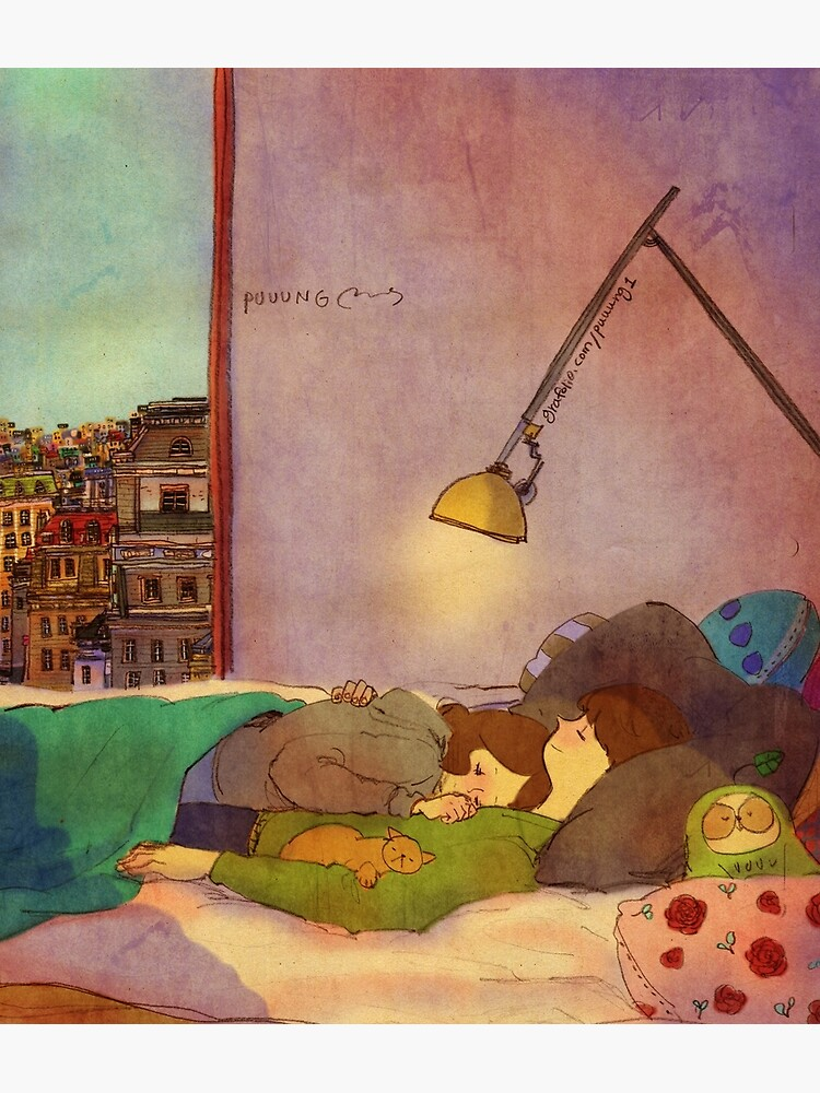 Nap together by puuung1