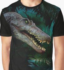 Spinosaurus Aaegyptiacus Jungle Graphic T-Shirt