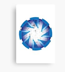 Gin Gear in Blue Canvas Print
