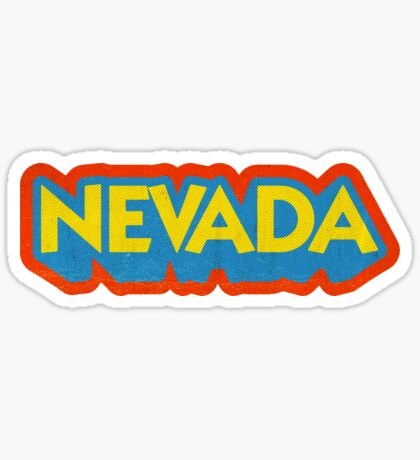 Nevada State Sticker | Retro Pop Sticker