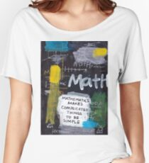 Math Women's Relaxed Fit T-Shirt
