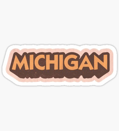 Michigan State Sticker | Retro Pop Sticker