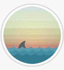 Shark Sea Design Sticker