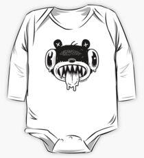 Noodle Bear Face One Piece - Long Sleeve
